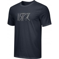 Willamette Striders TC 16: Adult-Size - Nike Combed Cotton Core Crew T-Shirt - Black