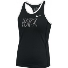 Willamette Striders TC 02: RECOMMENDED: Nike Dry Miler Women's Running Racerback Tank - Black