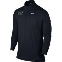Willamette Striders TC 20: Nike Element Men's Long Sleeve Running Top - Black
