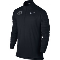 Willamette Striders TC 20: Nike Element Men's Long Sleeve Running Top - Black